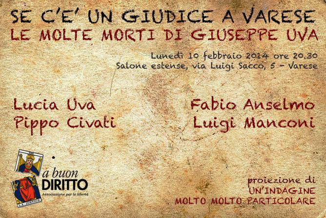 Il caso Uva a Varese