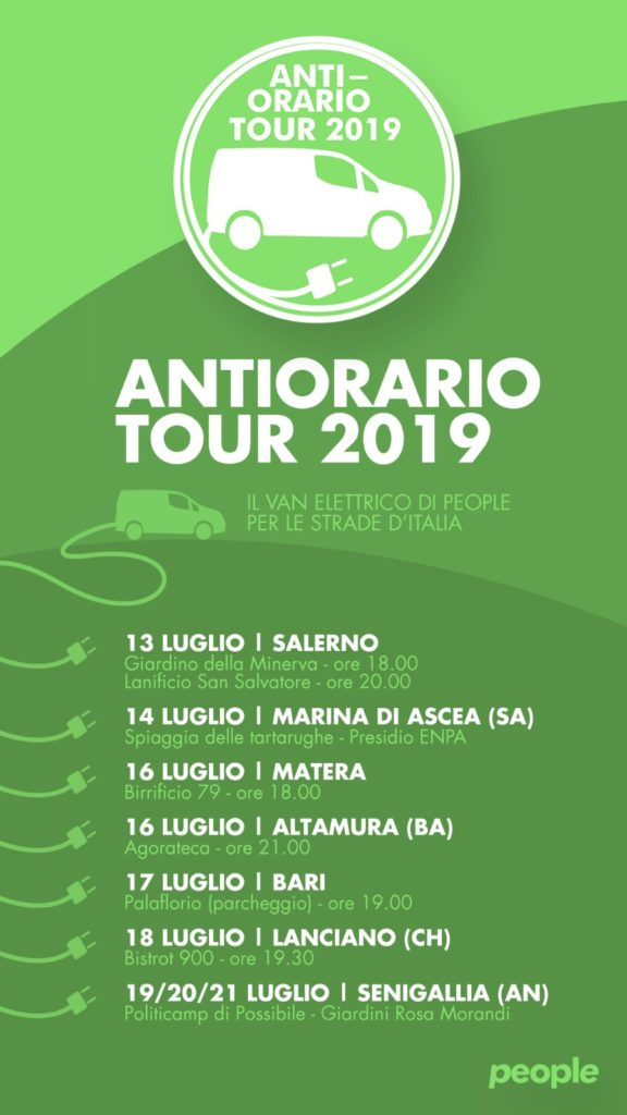 Antiorario Tour 2019
