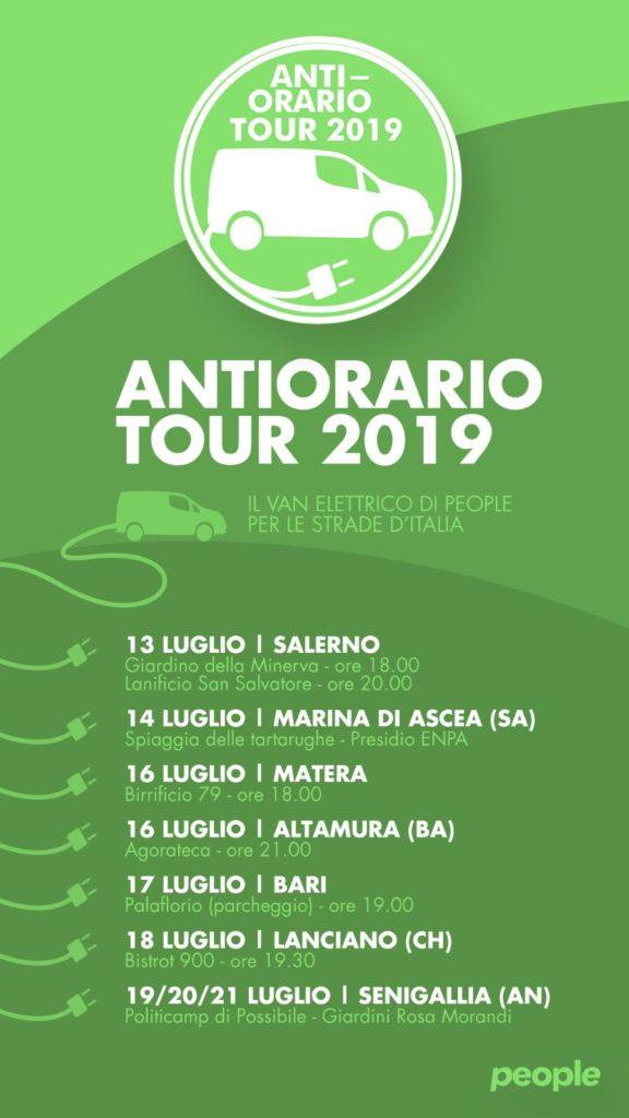 Antiorario Tour 2019